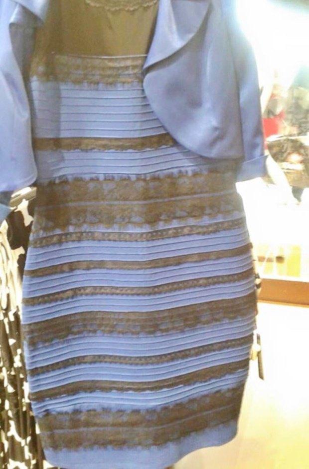 Неврологи попытались объяснить феномен чёрно-синего платья. Изображение № 1.