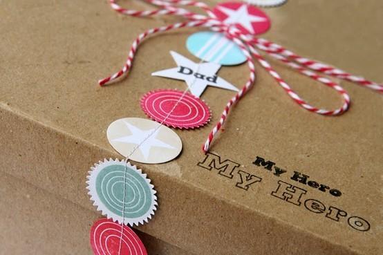 55 идей для упаковки новогодних подарков. Изображение № 91.