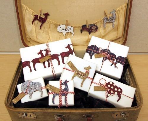 55 идей для упаковки новогодних подарков. Изображение № 4.