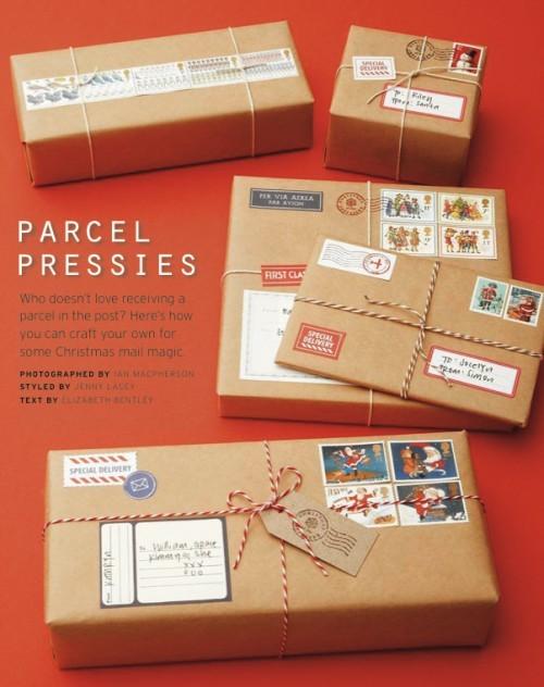 55 идей для упаковки новогодних подарков. Изображение № 124.