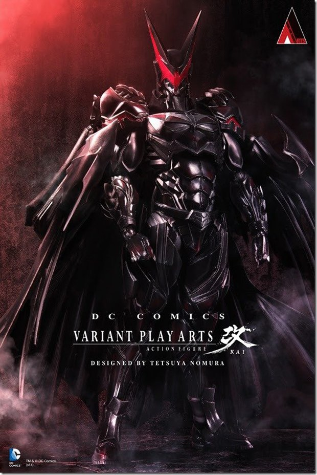 Дизайнер Final Fantasy нарисовал свою версию Бэтмена. Изображение №2.