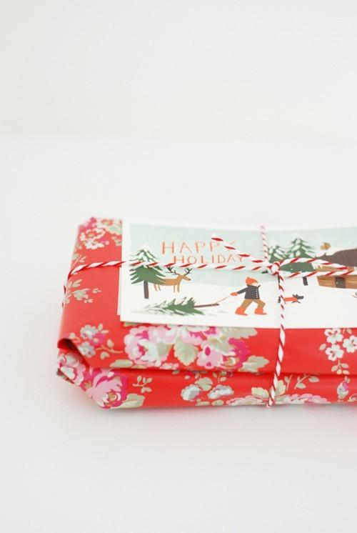 55 идей для упаковки новогодних подарков. Изображение № 62.
