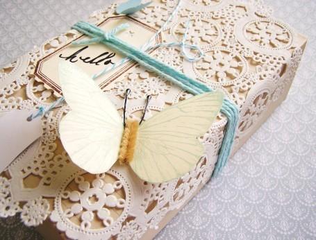 55 идей для упаковки новогодних подарков. Изображение № 41.