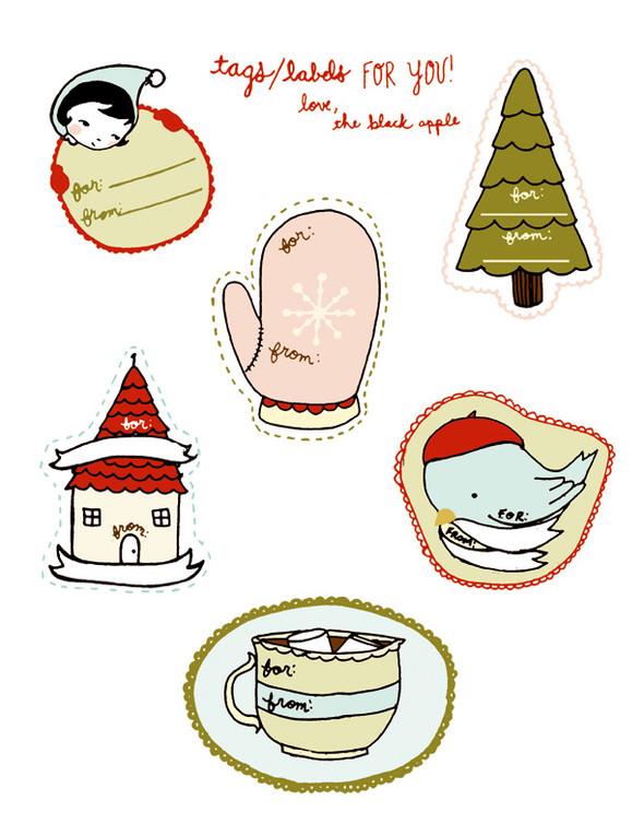 55 идей для упаковки новогодних подарков. Изображение № 50.