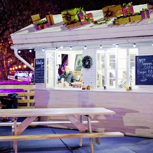 Еда на льду: 11 кафе вокруг катка в парке Горького