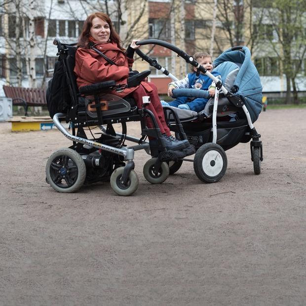 Мама на коляске: «Как я живу со спинальной амиотрофией»
