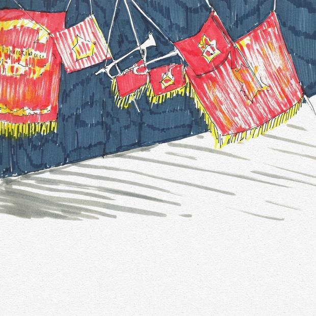 Выставка «Советское детство» — Клуб рисовальщиков на The Village