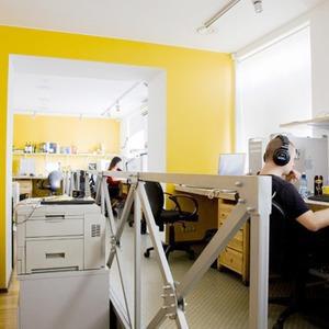 Офис недели: Direct Design Visual Branding — Интерьер недели на The Village