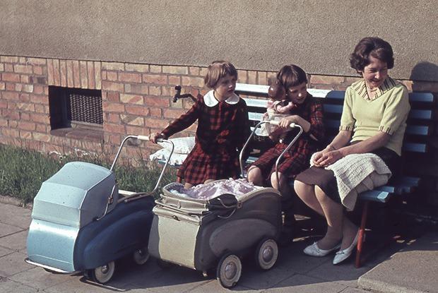 Германия 40-х и Калифорния 60-х на снимках незнакомцев в блоге Сергея Короля