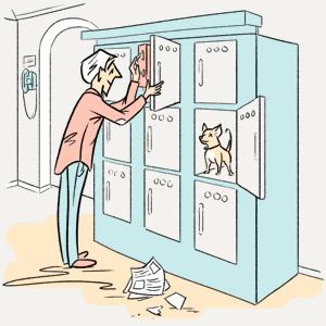 Что делают с забытыми в камерах хранения вещами?