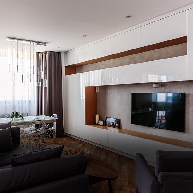 Просторная квартира в Краснодаре для семьи с двумя детьми   — Квартира недели на The Village