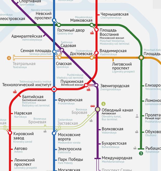 Карты на стол: 11 альтернативных схем петербургского метро — Транспорт на The Village