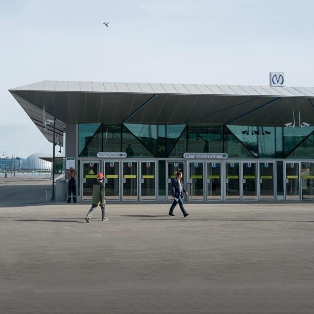 Как выглядят новые станции метро «Новокрестовская» и «Беговая» — Транспорт на The Village