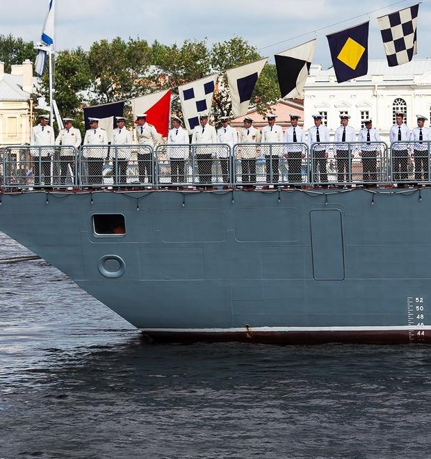 Фоторепортаж: День Военно-Морского флота в Петербурге