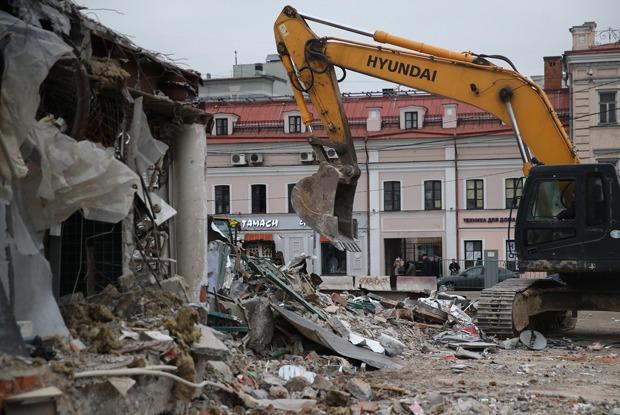 Под ковш: Что происходит с павильонами в Москве — Истории на The Village
