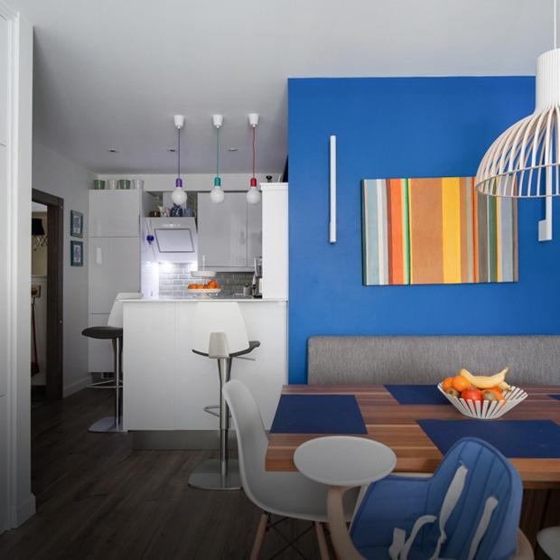 Трёхкомнатная квартира в скандинавском стиле на берегу озера  — Квартира недели на The Village