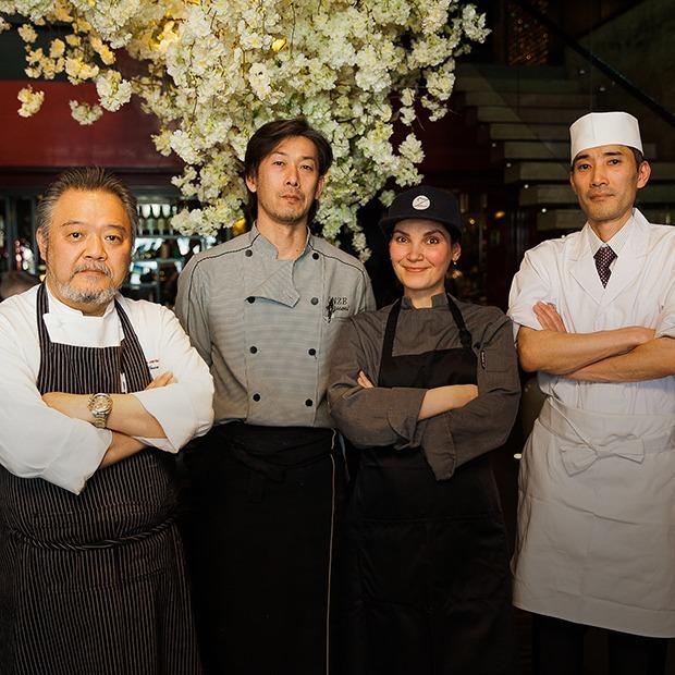 Готовим весенние блюда  с японскими поварами  во Владивостоке — Рецепты шефов на The Village