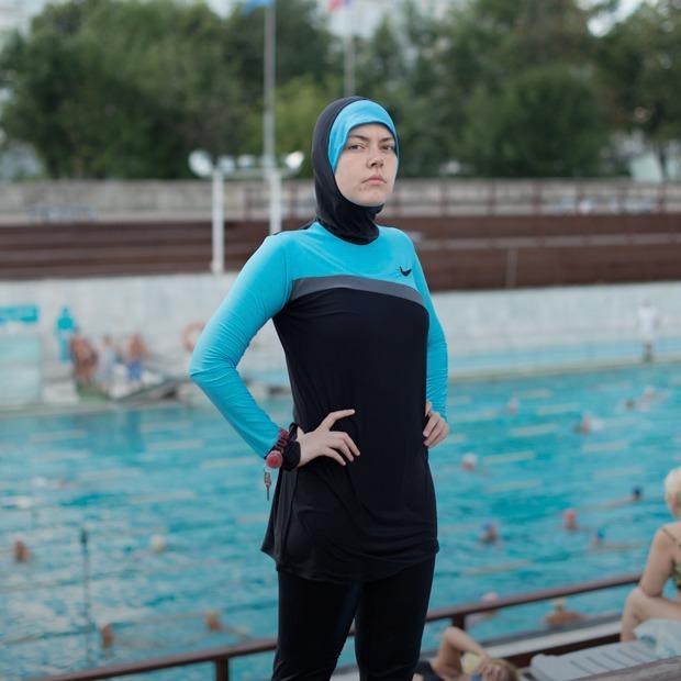 Как я плавала в буркини в Москве  — Эксперимент на The Village