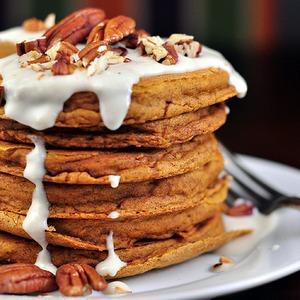 Breakfast Fun with Pumpkin Pancakes — Рецепты читателей на The Village