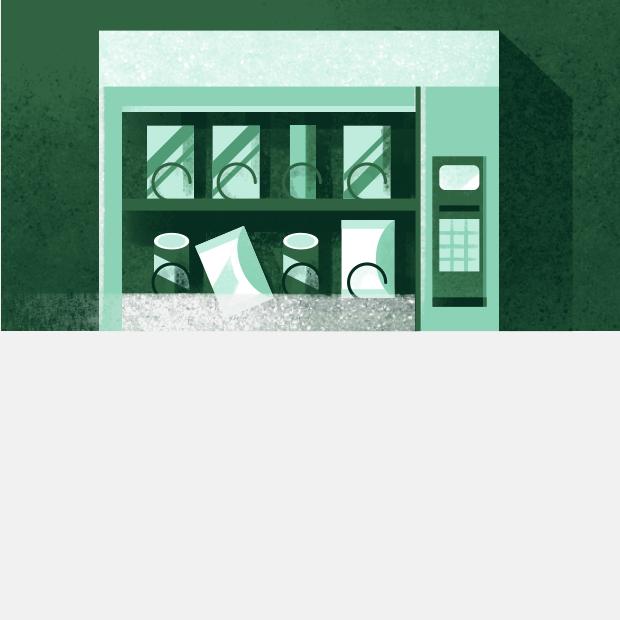 Что делать, если вендинговый автомат не выдал товар? — Есть вопрос на The Village