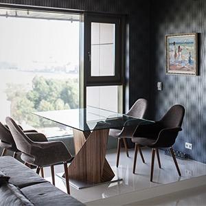 Мужская квартира с панорамным видом на город — Квартира недели на The Village