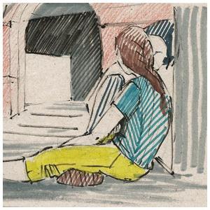 Монтаж IV Московской международной биеннале молодого искусства — Клуб рисовальщиков на The Village