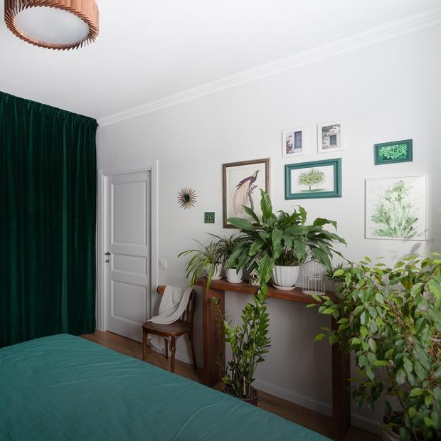 Скандинавская квартира с ретромебелью на «Коломенской» — Квартира недели на The Village