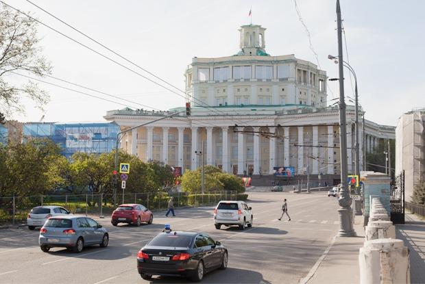 Москва сегодня и в военных фотографиях 1940-х годов — Галереи на The Village