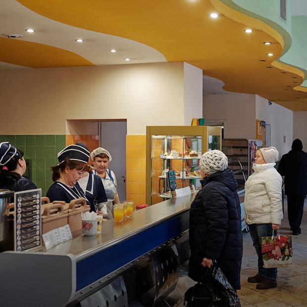 «Пирожковая» на Коминтерна — Место на The Village