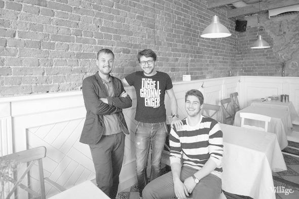 Денис Немытов, владелец кафе-бара «Фартук» — Свое место на The Village