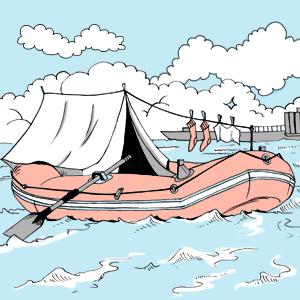 Есть вопрос: Можно ли использовать лодку в качестве городского транспорта? — Есть вопрос на The Village