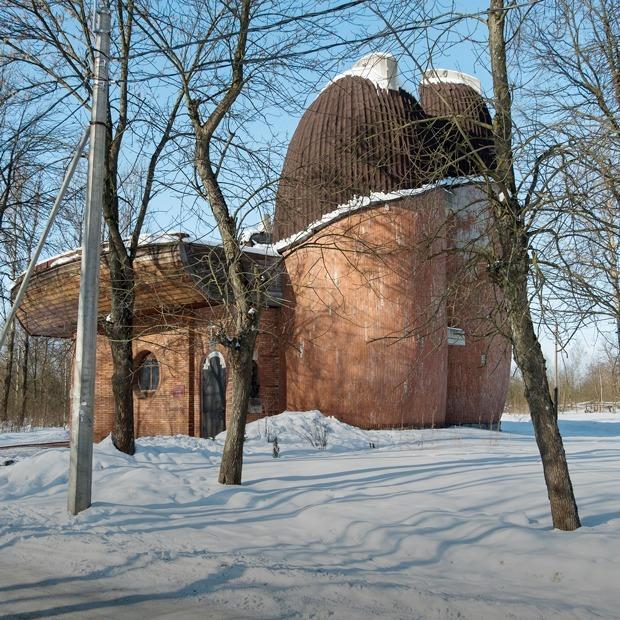 Лодки или грибы: Самая необычная церковь России — Дом, в котором на The Village