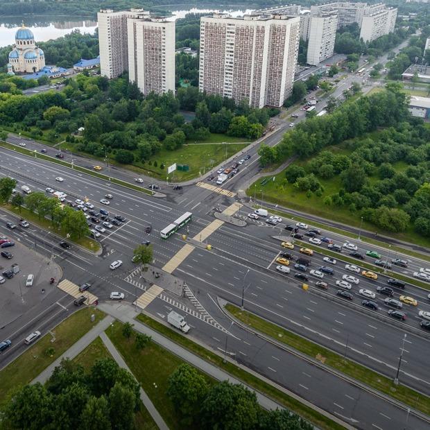 Самые смертоносные перекрестки в Москве  — Фоторепортаж на The Village