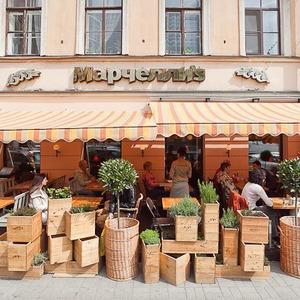 Зов улиц: Летние веранды в центре Петербурга — Рестораны на The Village