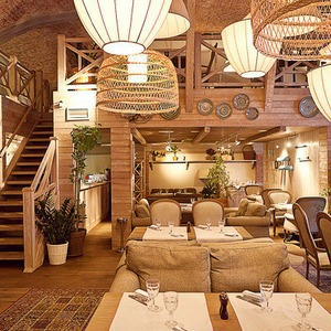 Новое место (Петербург): Ресторан Bazar — Новое место на The Village