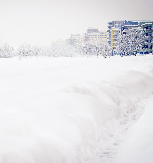 Всё о снеге на The Village — Ситуация на The Village