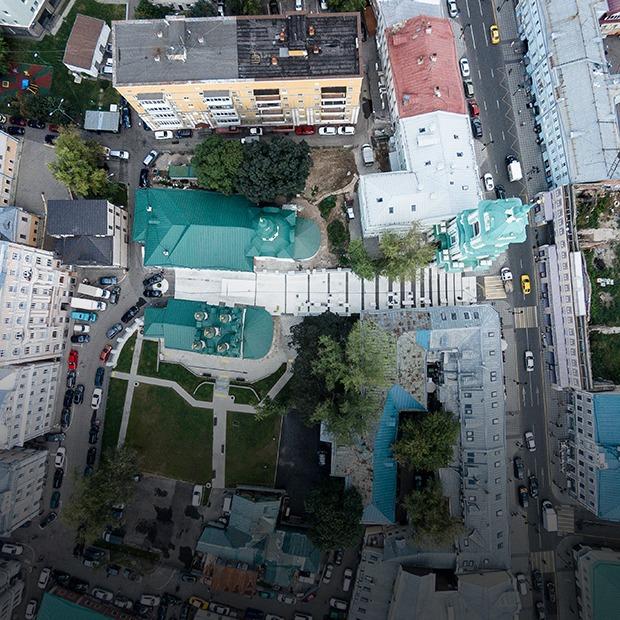 Черниговский переулок:  Как устроено новое общественное пространство в Замоскворечье