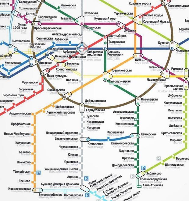 12 ошибок в новой схеме московского метро — Транспорт на The Village