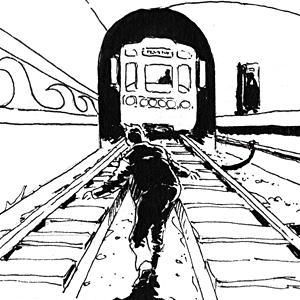 Есть вопрос: «Что делать, если человек упал на рельсы в метро»