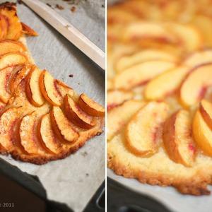Быстрый пирог с персиками — Рецепты читателей на The Village