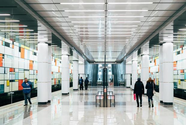 Как устроена новая станция метро «Румянцево» — Фоторепортаж на The Village