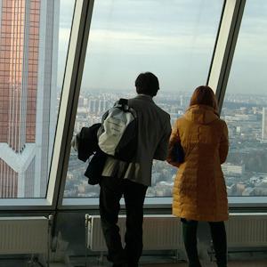 Смотровая площадка в «Москва-Сити»