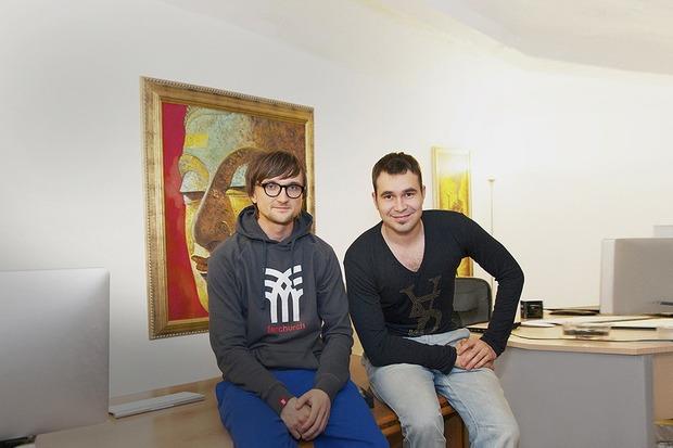 Рабочий стол: Денис Кутергин и Алексей Гидирим (YouDо)