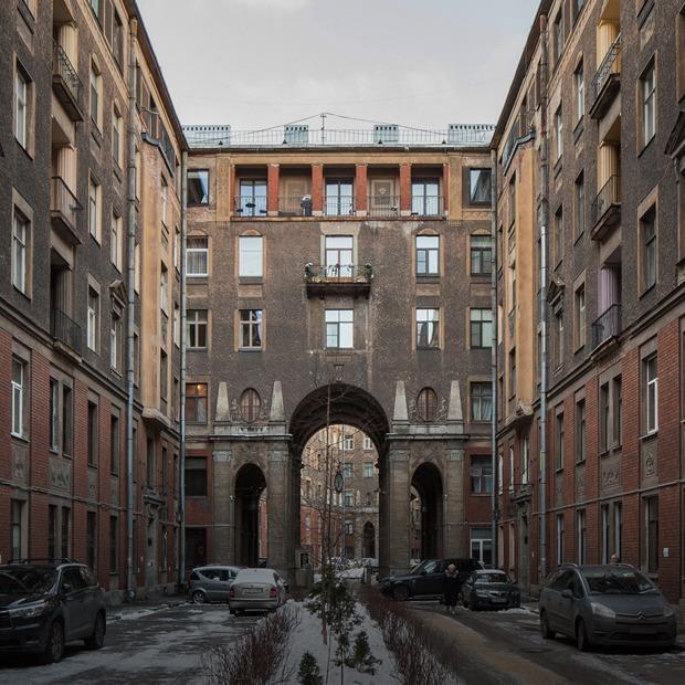 Я живу в Толстовском доме (Петербург) — Где ты живёшь на The Village