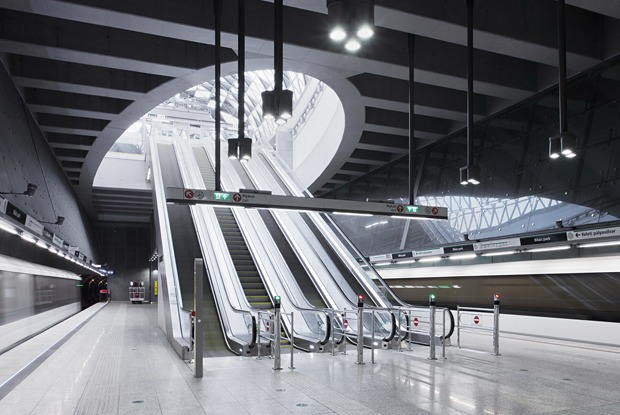 7 самых эффектных зарубежных систем метро — Как у них на The Village
