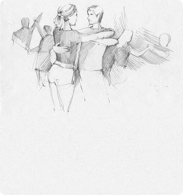 Вечеринка танцев хастл — Клуб рисовальщиков на The Village