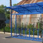 В городе открылись велостоянки на перехватывающих парковках