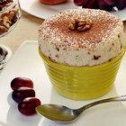 Парфе с грецкими орехами и медом