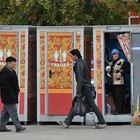 В Москве появились новые биотуалеты, расписанные под хохлому