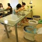 Современный китайский туалет-ресторан (Toilet Restauran